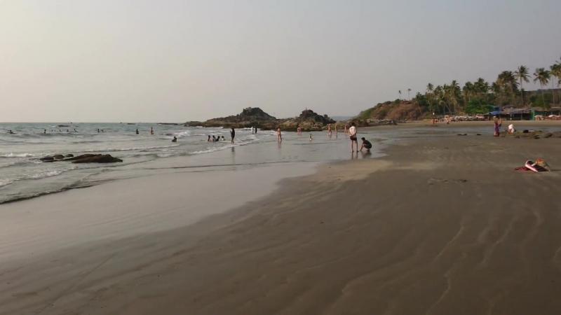 Vagator Beach Goa 1 03 2018