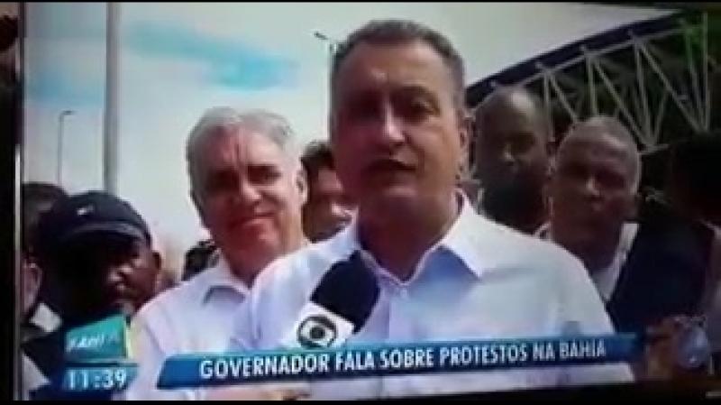 Governador da Bahia sobre Icms