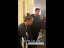 Дата 3 апреля ›› Лос-Анджелес, США Дженнифер и Алекс закулисами шоу  Эллен ДеДженерес