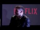 Çağatay Ulusoy, The Protector hakkında bahsediyor Netflix SWN18 @netflixturkiye @cagatayulusoyy