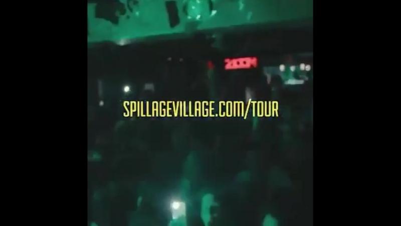 J.I.D The never had shit tour
