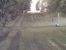 Поляк на Opel Zafira прорывается через границу в Беларусь