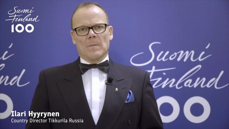 Генеральный директор ООО «Тиккурила» Илари Хююрюнен