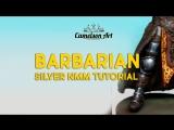 Black Sun Barbarian Silver NMM Tutorial.