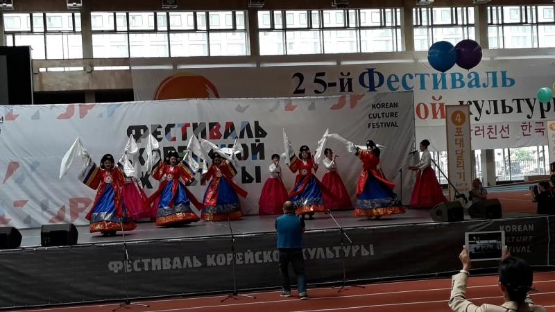 12.06.2018. 25 фестиваль корейской культуры. Императорский танец