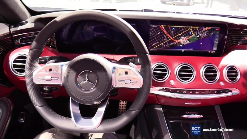 2018 Mercedes Benz S Class S 560 Coupe - Exterior and Interior Walkaround - 2018 Detroit Auto Show