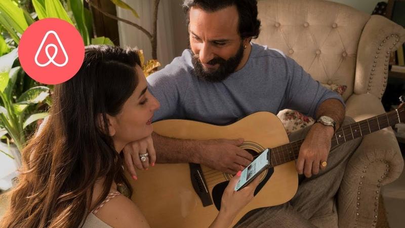 Who helped Saif Kareena book their Airbnb home? | Saif Kareena | Airbnb