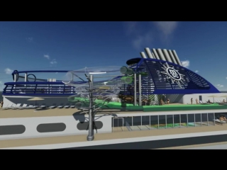 MSC Seaside Aqua Park Preview _ MSC Cruises _ New Cruise Ship