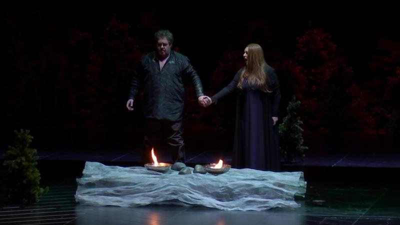 Wiener Staatsoper - Richard Wagner: Gotterdammerung (Вена, 15.04.2018) - Act I