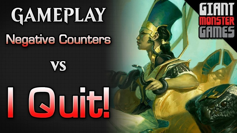 NEW Negative Counters -vs- The deck that LITERALLY wins against this deck - MTGO Gameplay 2