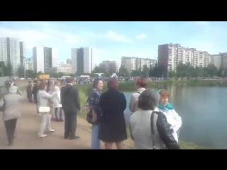 Хоровод собирается на Славянской Ярмарке.