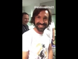 Vieris Pirlo impression V2.0 - - The only man to get Andrea to show some type of emotion