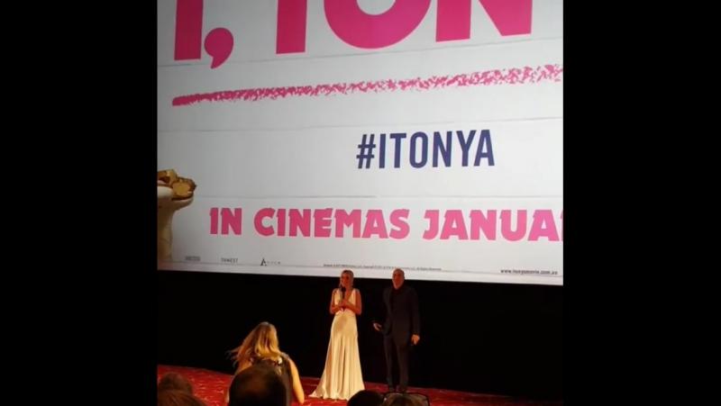 Публичные появления   Премьера фильма «Тоня против всех» в Сиднее, Австралия (23.01.2018).