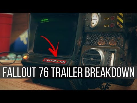 Everything We Learned from the Fallout 76 Trailer Washington D C Fallout 3 Multiplayer