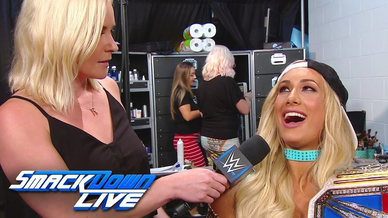 Is Carmella concerned about the 10-Woman Tag Team Match SmackDown LIVE, June 12, 2018