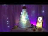 Световое маппинг шоу на торт - Luma Cake