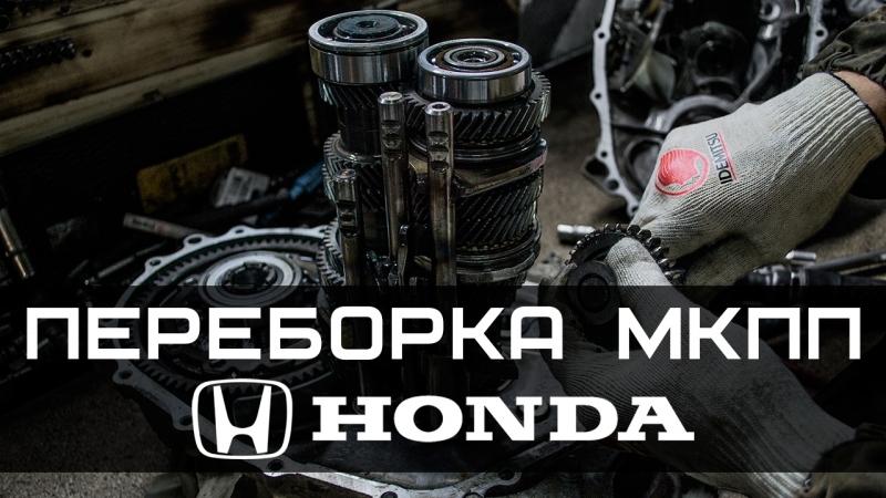 Ремонт КПП (МКПП, коробки передач) на Honda Civic, Accord, CRV