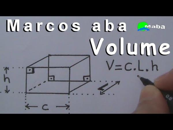 VOLUME E LITROS DO PARALELEPÍPEDO Geometria espacial Aula 01