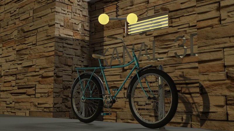 3Ds Max bicycle modeling tutorial 2016 - part 6