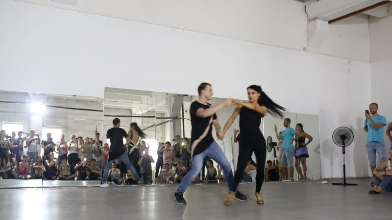 Аркадий Федяев и Рина Медведева