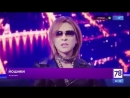 In Russia #ロシア のTV On TV talking about Xjapan YoshikiClassical Channel78 saintpetersburg Film WeAreX Nowplaying