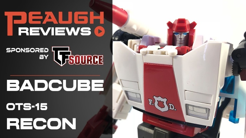 Video Review: Badcube OTS-15 Security Director RECON