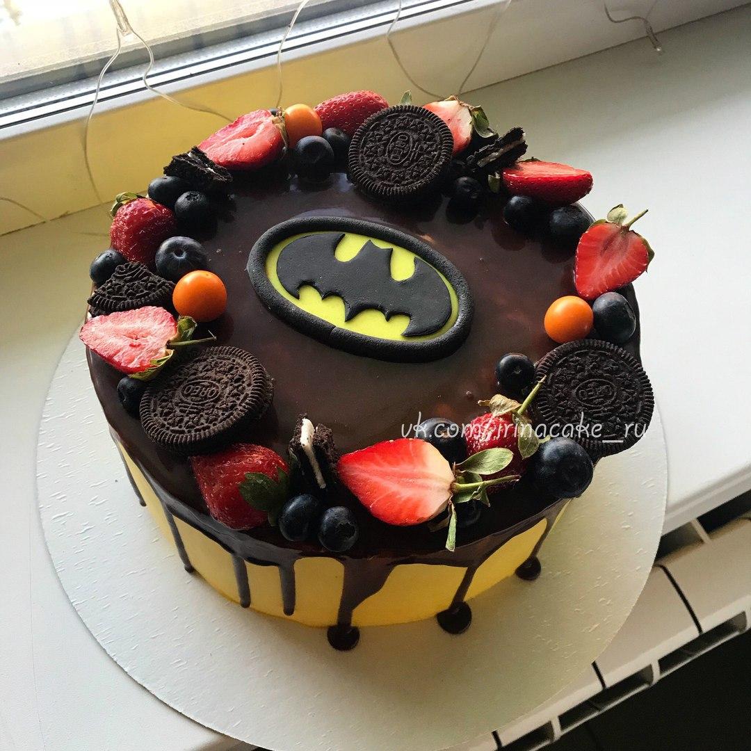 """Торт для мальчика """"Бэтмен"""" (арт. 28)"""
