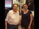 Maestro Cecchele(78anni!!!!!) and lucie Silkenov