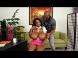Maserati XXX - Big Tity Casting Black, Ebony, All sex, Blowjob, Cum shots, Big natural tits, Huge boobs