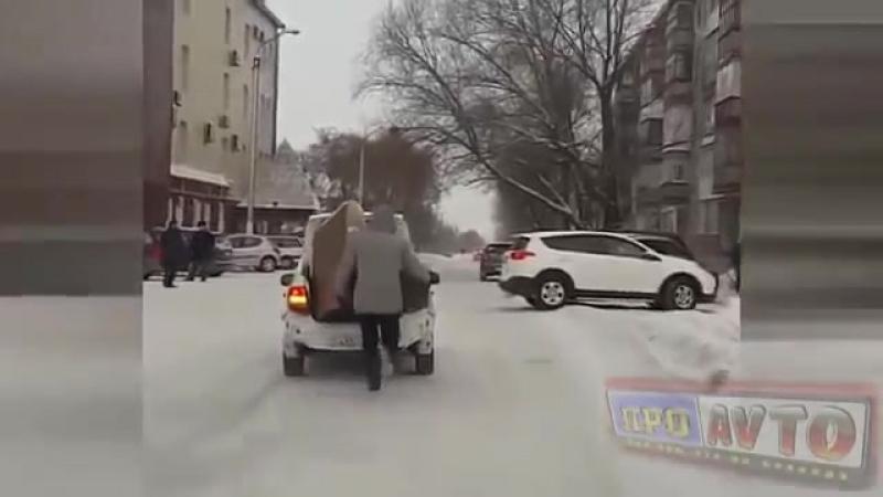 Приколы видео Курьезы на дороге Автоприколы.mp4