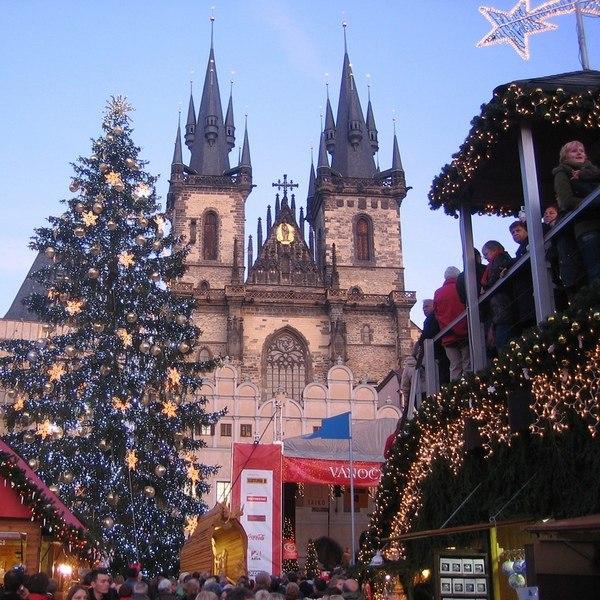 Казань: католическое Рождество и Новый Год в Праге