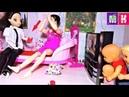 МАКС И КАТЯ ПАПА МАМА ПОМЕНЯЛИСЬ Мультики куклы Барби смешное видео