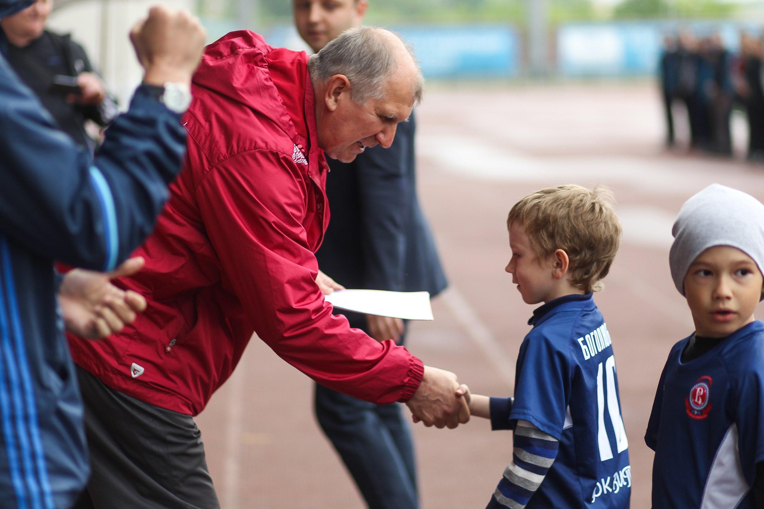 Валерий Волков: «Клубный футбол по месту жительства в Подольске прогрессирует»