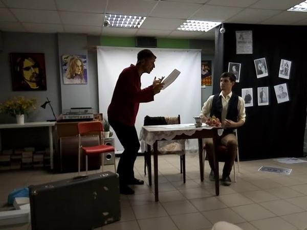 А. П. Чехов Трагик поневоле, читают - Денис Ларионов и Андрей Сапенок