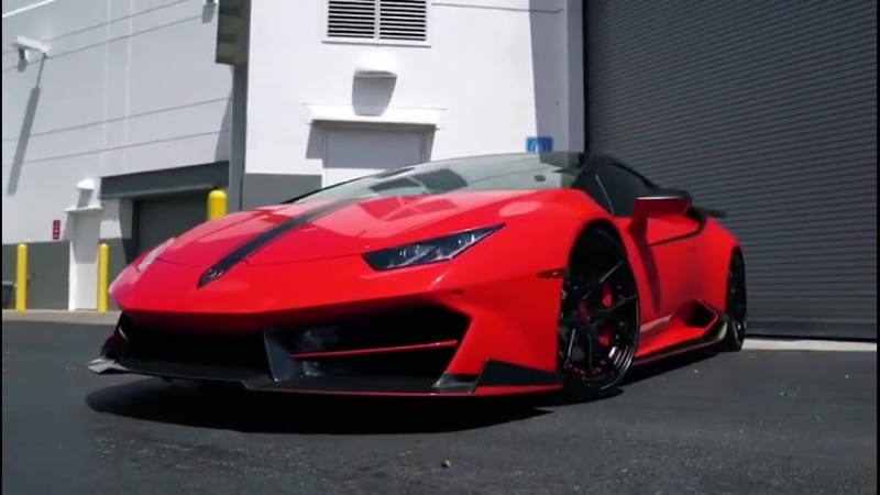 The Red 1016 Industries LP-580 Huracan...