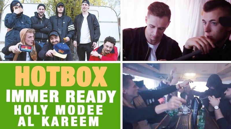 Hotbox mit Mauli, Marvin Game, Morten, Holy Modee, Al Kareem Mister Mex 420-Special (16BARS.TV)