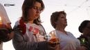 Жители Луганска в 4 часа утра зажгли свечи в память о начале Отечественной войны