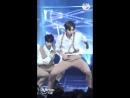[FANCAM] 180614 | Wanna One - Light (с фокусом на Джихуне) @ M!Countdown EP. 574