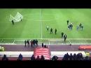 Парень в футболке Ньюкасла на Стэдиум оф Лайт в перерыве матча Сандерленд Престон