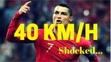 Шок! Роналду в 33 Установил Рекорд Скорости для футболиста 40 км/ч!😮