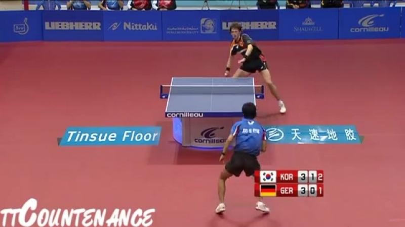 World Team Cup_ Joo Se Hyuk-Steffen Mengel