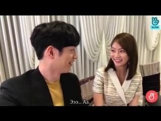 Со Кан Джун и Гон Сын Ён