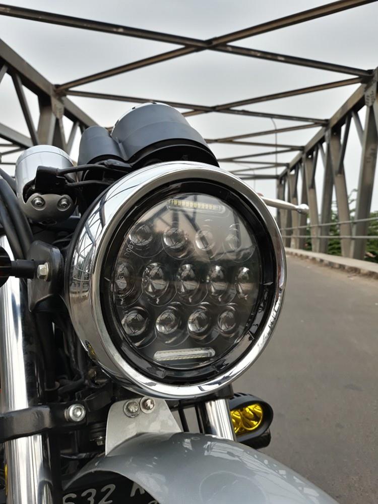 Insan Motor Bekasi: скрэмблер Kawasaki W175