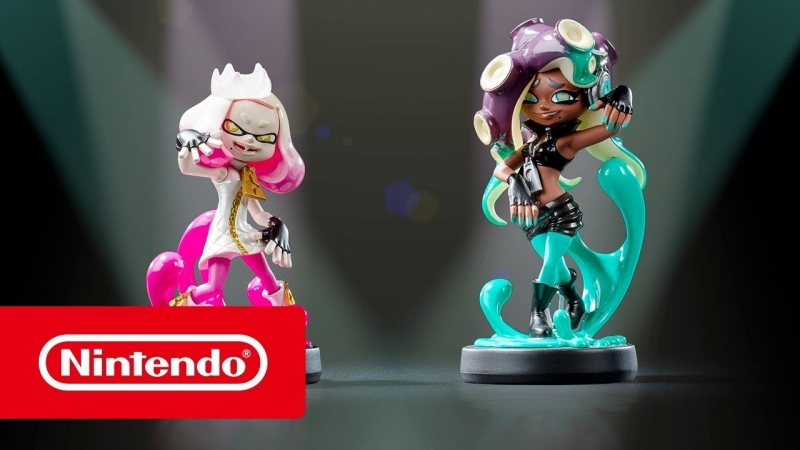 Встречайте фигурки amiibo дуэта Off the Hook из Splatoon 2 (Nintendo Switch)