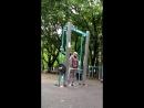 Решил я сегодняшнюю тренировочку провести в старом добром парке на Соколе. Рад был вновь встретить там ребят @monstazz_athletic.