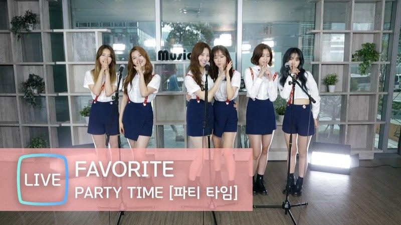 [LIVE] Favorite(페이버릿) 'Party Time'(파티타임) Stage (가을, 서연, 새봄, 수경, 아라, 정희, KPOP STAR 6)