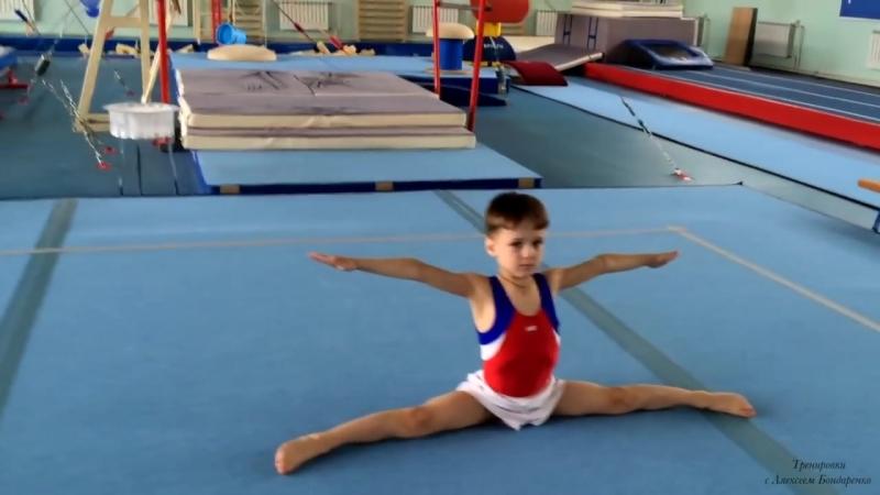 Спортивная гимнастика для мальчиков.