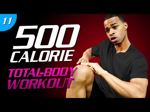 35 Min. Hard Earned Sweat (200th Video) | 500 Calorie HIIT MAX Day 11