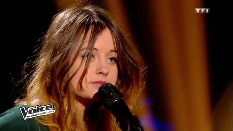 THE VOICE FRANCE - Leïla Huissoud - CARAVANE -