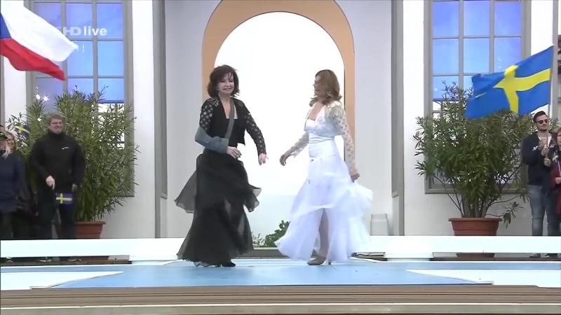 Baccara - Parlez-Vous Français? (ZDF Fernsehgarten, 15 May 2016)